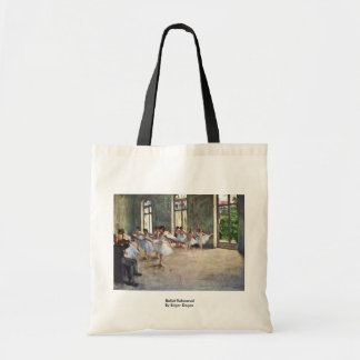 Ballet Rehearsal By Edgar Degas Tote Bag
