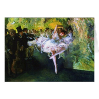 Ballet Rehearsal in New York City Card