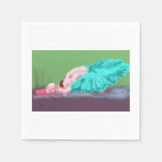 Ballet Resting Art Disposable Napkin