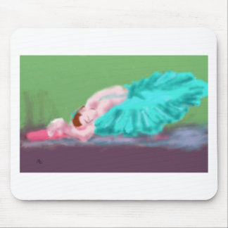 Ballet Resting Art Mouse Pad