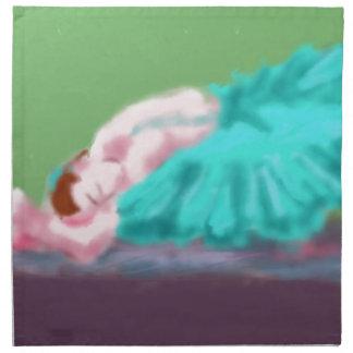 Ballet Resting Art Napkin