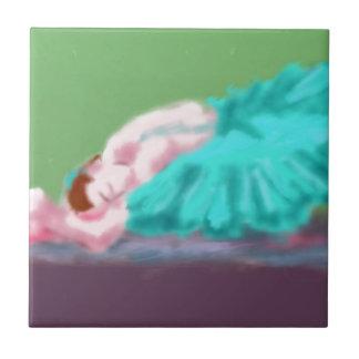Ballet Resting Art Tiles