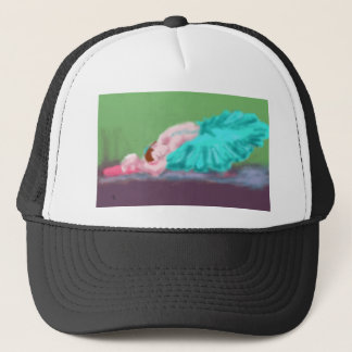 Ballet Resting Art Trucker Hat