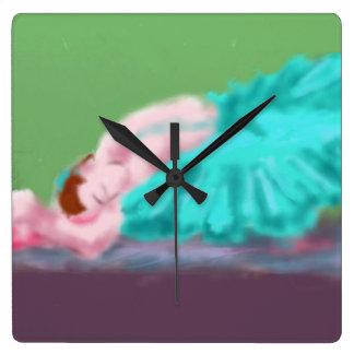 Ballet Resting Art Wallclock
