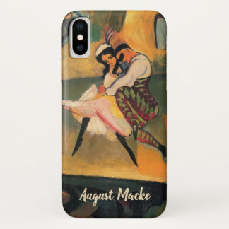 Ballet Russes, Russian Ballet by August Macke iPhone X Case