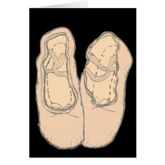 Ballet shoes card
