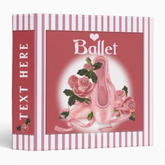"BALLET SHOES DANCE 2 Avery Signature 1.5"" Binder"