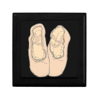 Ballet shoes gift box