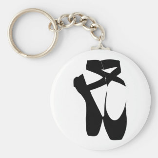 Ballet Shoes Keychain