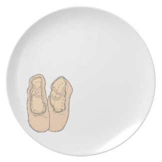Ballet shoes plate