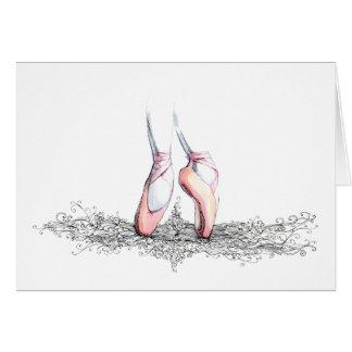Ballet Slippers Card