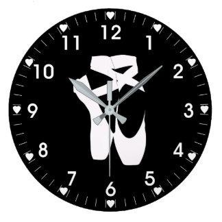 Ballet Slippers Large Clock