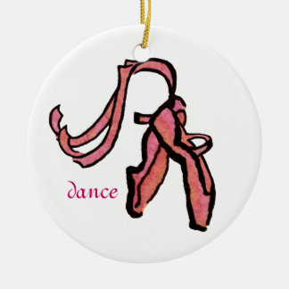 Ballet Slippers Ornament