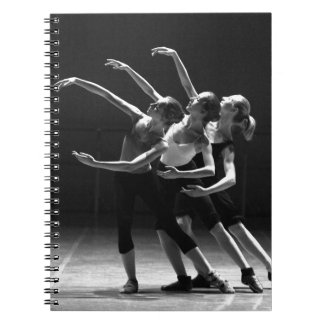 ballet spiral notebooks