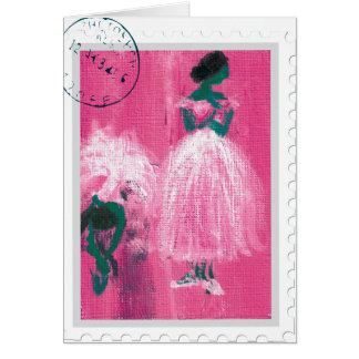 Ballet stamp by Marie L. Card