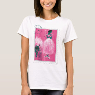 Ballet stamp by Marie L. T-Shirt