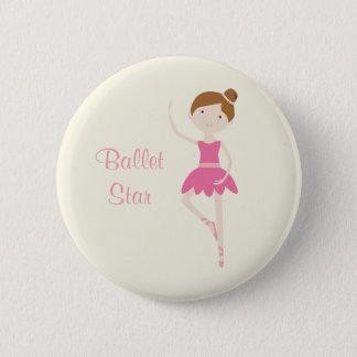 Ballet Star Ballerina 1 Button