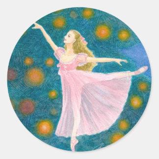 Ballet Sticker - Clara