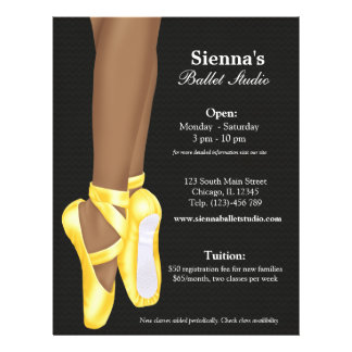 Ballet Studio Flyer Design