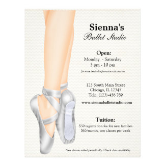 Ballet Studio Full Color Flyer