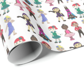 Ballet Tap Jazz Acro Hip Hop Lyrical Dance Teacher Wrapping Paper