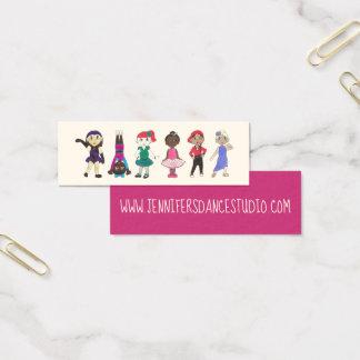 Ballet Tap Jazz Lyrical Hiphop Acro Dance Studio Mini Business Card