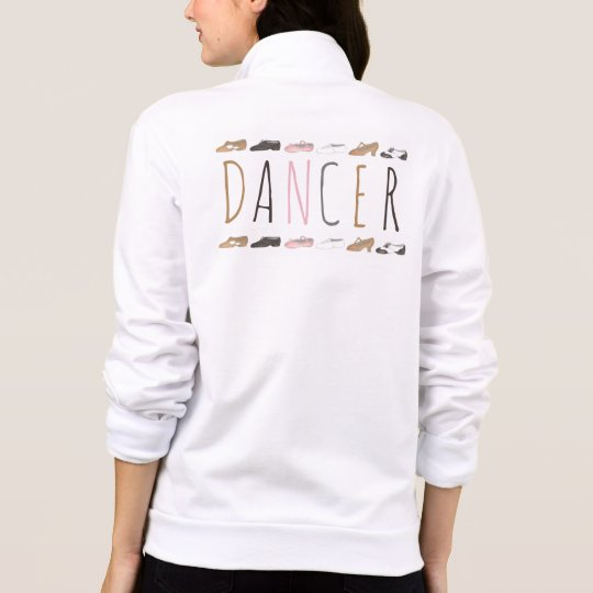 Ballet Tap Jazz Shoes Dance Dancer Sweatshirt