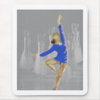 Ballet Turn Art Mouse Pad