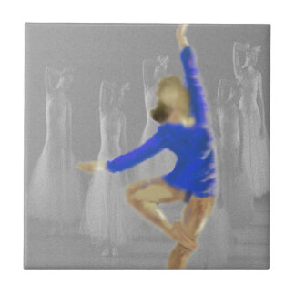 Ballet Turn Art Tile