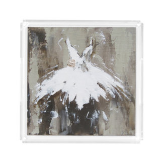 Ballet Tutu Acrylic Tray