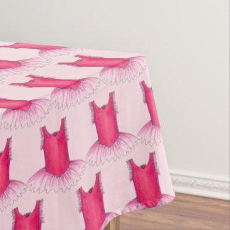 Ballet Tutu Ballerina Dance Costume Pretty Pink Tablecloth