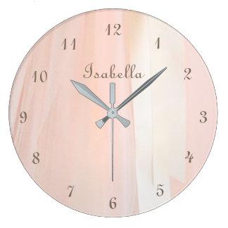 Ballet Tutu Personalized Wall Clock