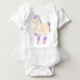 Ballet Unicorn Baby Tutu Bodysuit