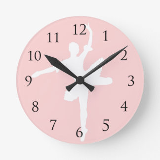 Ballet Wall Click Wall Clock