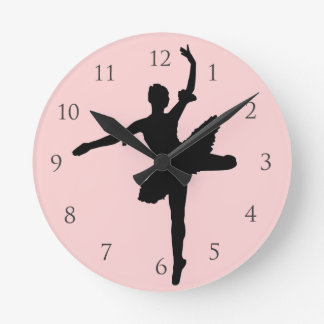 Ballet with Numbers Wallclocks