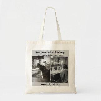 Ballets Russes Anna Pavlova Tote Bag
