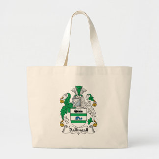Ballingall Family Crest Large Tote Bag