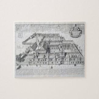 Balliol College, Oxford, from 'Oxonia Illustrata', Jigsaw Puzzle