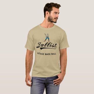 Ballist Vintage Base Ball Player 1864 Brand T-Shirt