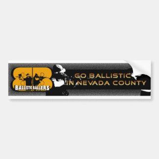 ballistic baller bumber sitcker #1 bumper sticker