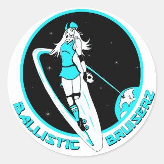 Ballistic Bruiserz Stickers