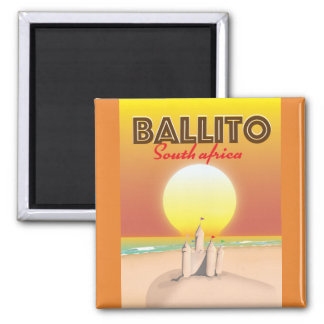 Ballito South african travel poster Magnet