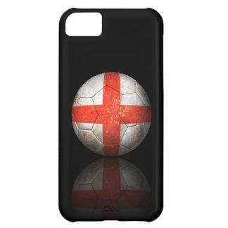 Ballon de football anglais usé du football de drap