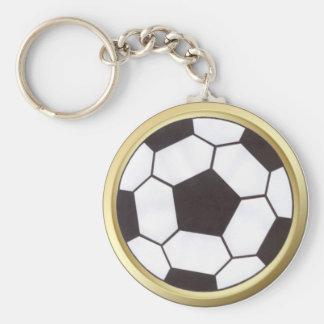 Ballon de football avec le porte - clé d'équilibre porte-clés