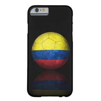 Ballon de football colombien usé du football de coque iPhone 6 barely there