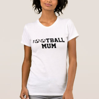 Ballon de football de la maman v2 du football tee-shirt