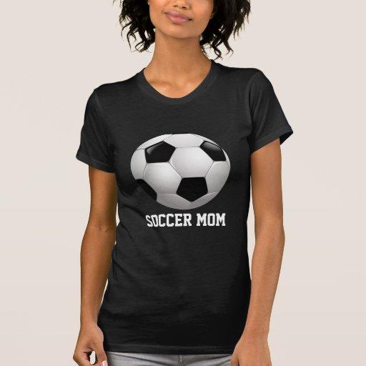 Ballon de football de maman du football t-shirt