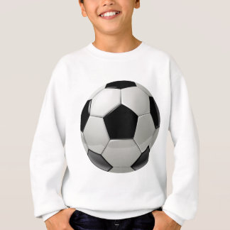 Ballon de football du football sweatshirt
