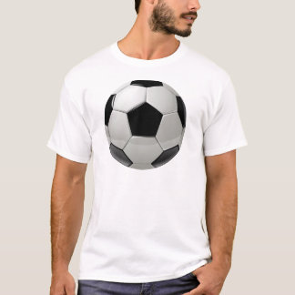 Ballon de football du football t-shirt