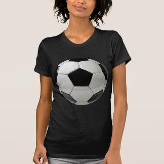 Ballon de football du football t-shirt